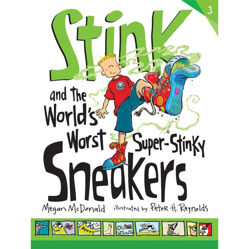 Candlewick Press Stink Book 3  and The Worlds Worst Super Stinky Sneakers