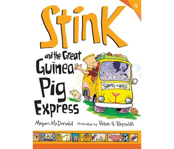 Stink Book 4 and the Great Guinea Pig Express