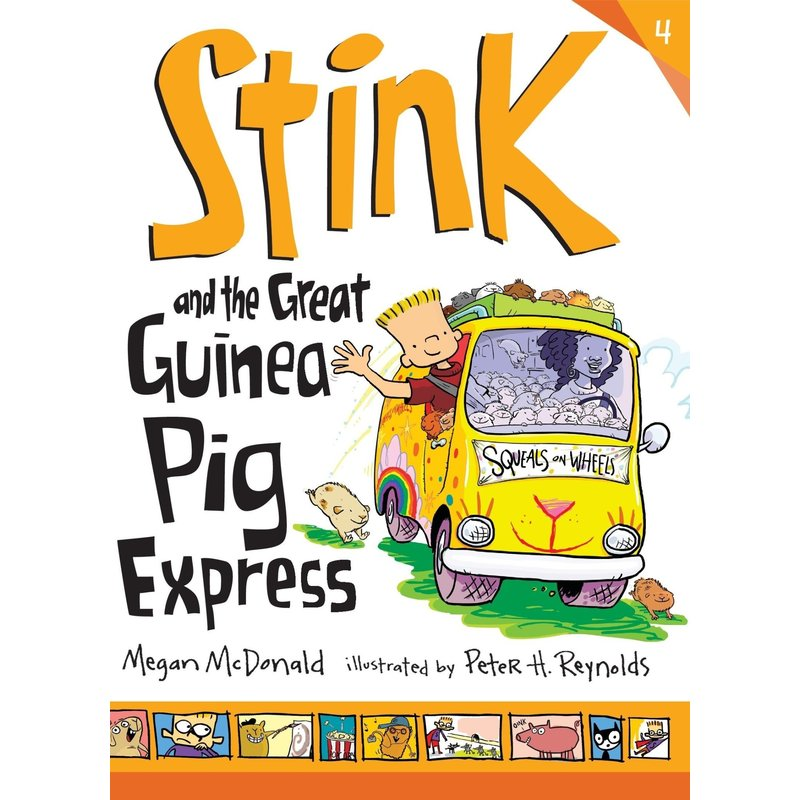 Candlewick Press Stink Book 4 and the Great Guinea Pig Express