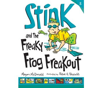 Stink Book 8 and the Freaky Frog Freak Out