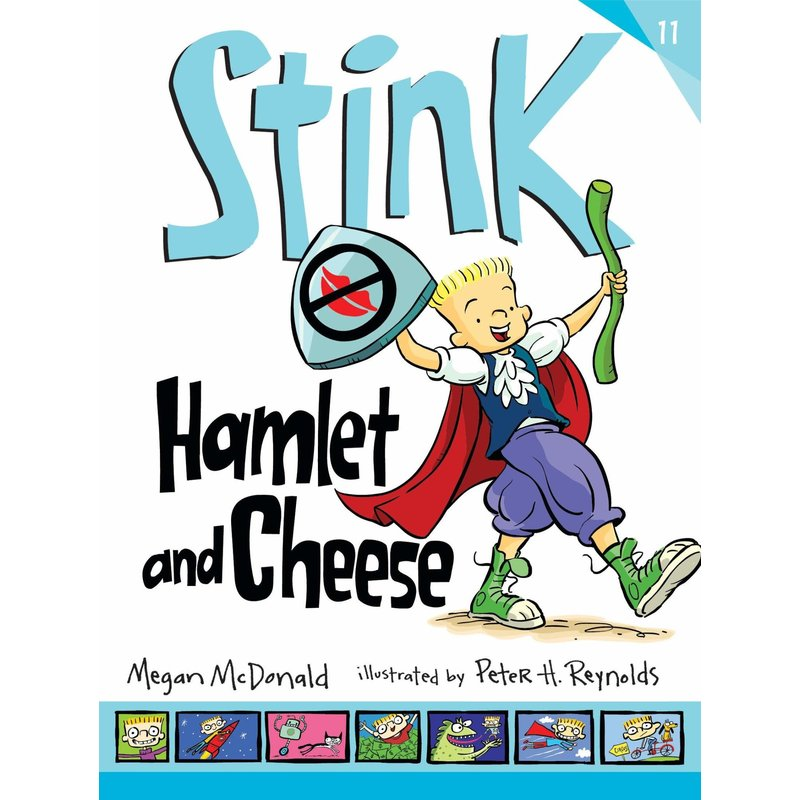 Candlewick Press Stink Book 11 Hamlet & Cheese