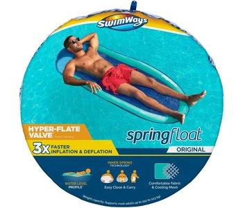 Swimways Spring Float - Aqua/Blue