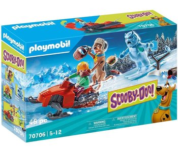 Playmobil Scooby Doo! II Adventure with Snow Ghost