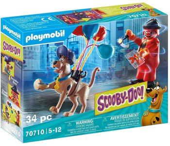 Playmobil Scooby Doo! II Adventure with Ghost Clown