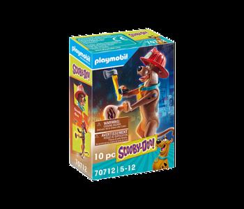 Playmobil Scooby Doo! II Collectible Firefighter Figure