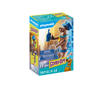 Playmobil Scooby Doo! II Collectible Police Figure
