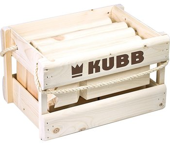 Kubb Game Wooden Crate