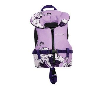 Salus Life Vest Nimbus Youth Purple Waves 60-90lb