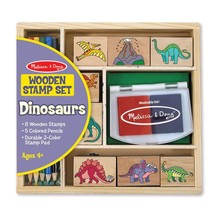 Melissa & Doug Melissa & Doug Stamp Set Dinosaurs