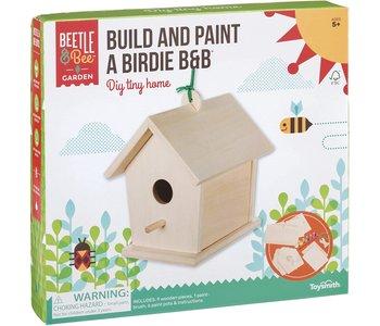 Beetle & Bee Build and Paint a Bird B&B