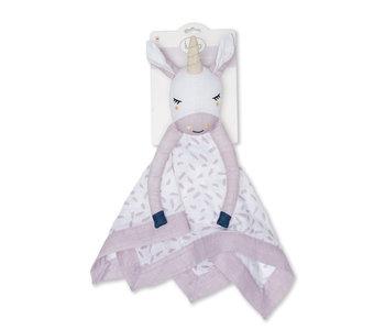 Lulujo Lovey Muslin Cotton Modern Unicorn