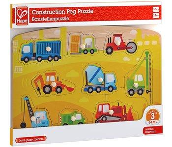 Hape Peg Puzzle Construction