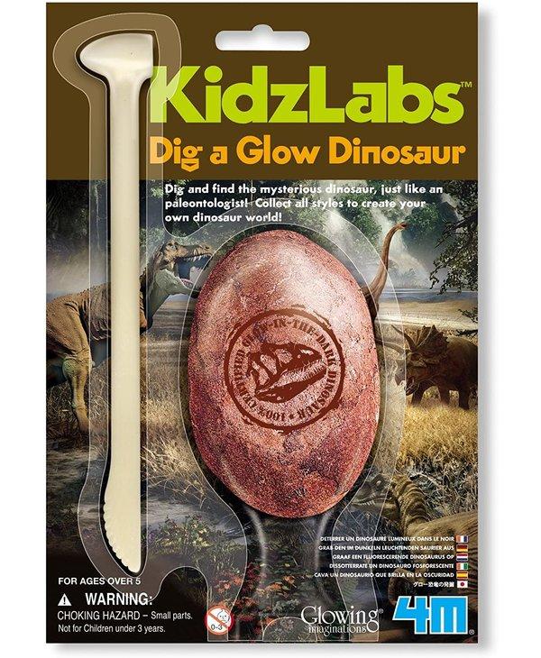 4M Dig A Glow Dinosaur Egg