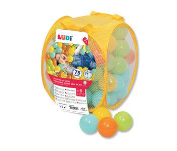 Ludi Game Balls 75 Pieces Mixed