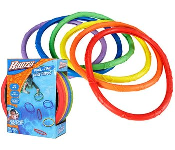 Banzai Pool Time Dive Rings Pack of 6