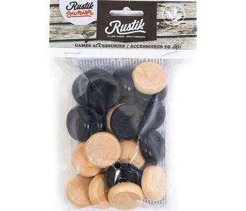 Rustik 24 Chips for Crokinole