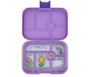 Yumbox Lunch Box 6 Compartmant Dreamy Purple