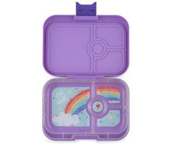Yumbox Lunch Box Panino 4 Compartments Dreamy Purple