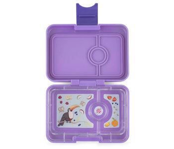Yumbox Lunch Box  Mini Snack Dreamy Purple