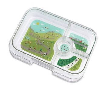 Yumbox 4 Compartment Replacement Tray Bike Race