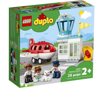 Lego Duplo Airplane and Airport