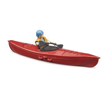 Bruder Kayak with Figure