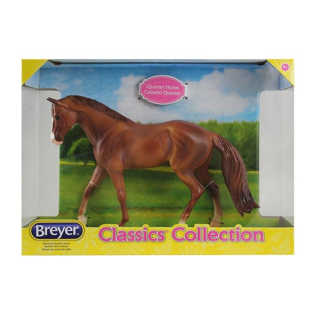 Breyer Classics Horse Chestnut Quarter Minds Alive Toys Crafts Books