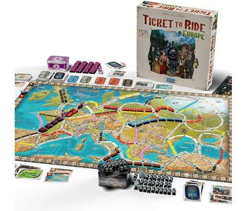 Ticket to Ride Game Europe 15th Anniversay Edition