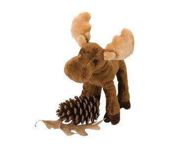 """Douglas Plush 8"""" Lumber Jack Moose"""
