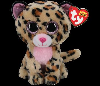 Ty Beanie Boo Regular Livvie Cheetah