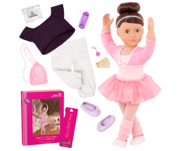 """Our Generation 18"""" Deluxe Doll: Sydney Lee Ballerina"""