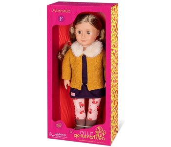 """Our Generation 18"""" Doll: Florence"""