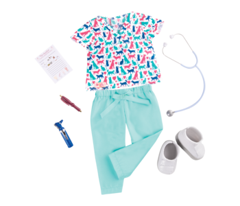 Our Generation Doll Deluxe Outfit: Healthy Paws