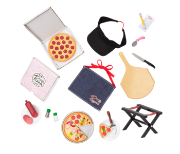 Our Generation Doll Accessory: Yummy Pizzeria Set