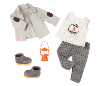 Our Generation Doll Deluxe Outfit: Campsite Delight