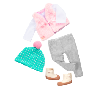 Our Generation Doll Outfit: Fuzzy Feelings