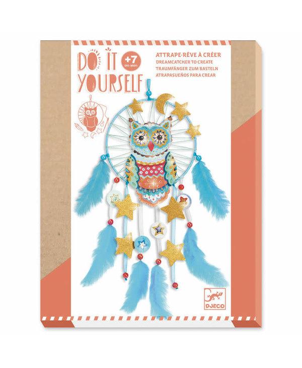 Djeco Craft DIY Dream Catcher Golden Owl