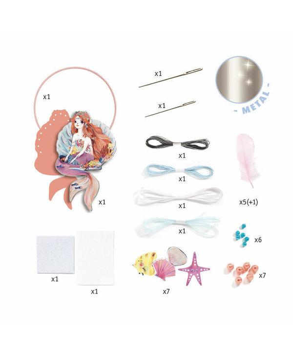 Djeco Craft DIY Dream Catcher Gentle Mermaid