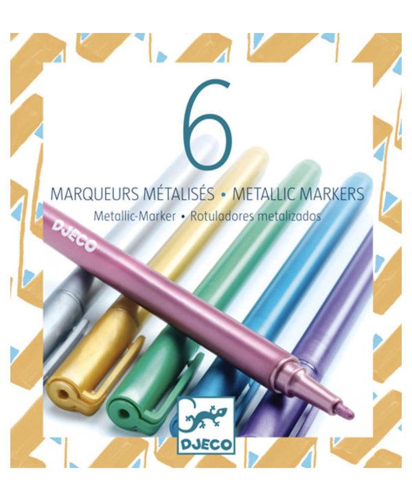 Djeco Metallic Markers