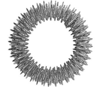 Sensory Rings Fidget Toy Silver