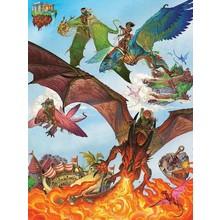 Cobble Hill Puzzles Cobble Hill Family Puzzle 400pc Dragon Flight