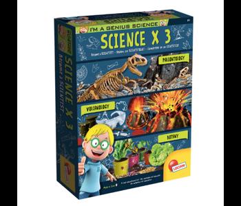 I'm a Genius Science x 3