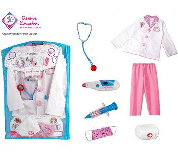 Great Pretenders Costume Pink Doctor