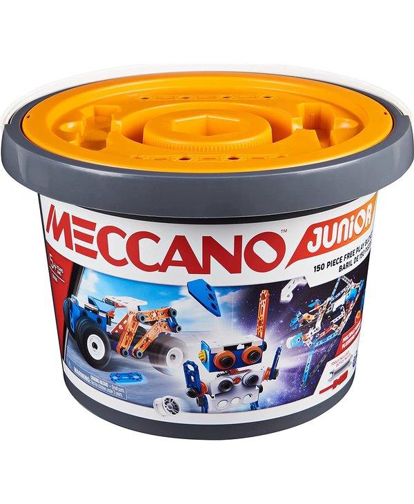 Meccano Jr. Open Ended Bucket 150pcs