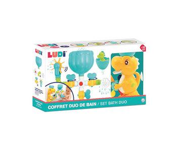 Ludi Bath Dino Duo Set