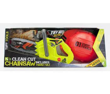 Tuff Tools Clean Cut Chainsaw with Hard Hat