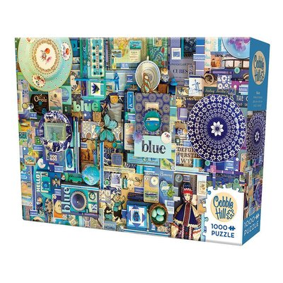 Cobble Hill Puzzles Cobble Hill Puzzle 1000pc Blue