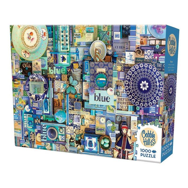 Cobble Hill Puzzles Cobble Hill Puzzle 1000pc Blue
