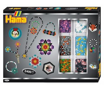 Hama Midi Striped Beads Activity Box