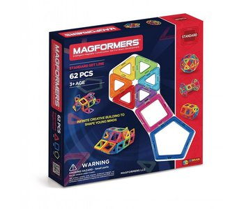 Magformers Magnetic Construction  62pc